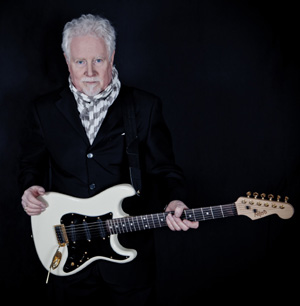 Jim Cregan with his Customshop white ST Vintage made for Jim to replace his 60's Strat for stage work and recording